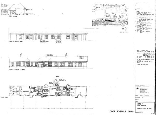Plan, Section and Elevations as proposed