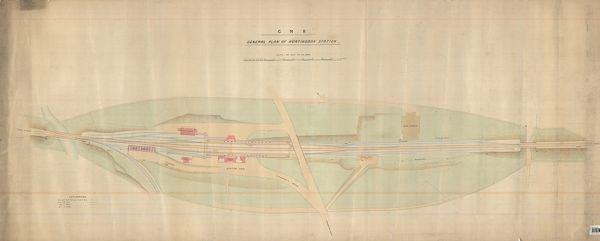 General Plan of Huntingdon Station
