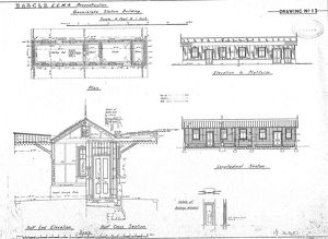 B.A and C.L.R. E.C.M.R Reconstruction Gunnislake Station Building [1870]