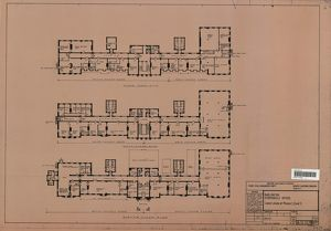 British Railways Board Darlington Stooperdale Offices Layout Plans of Phases 1, 2 and 3