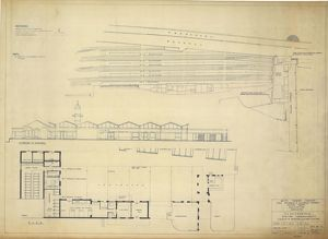 Cleethorpes Station Improvements - Layout of Proposed Electric Lighting [1960]