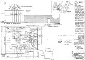 Crystal Palace Station New Station Plan and Elevation [1985]