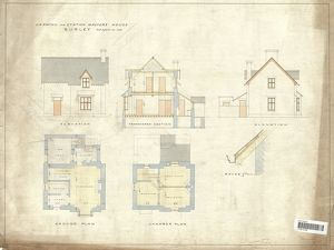Drawing for Station Masters House Burley [ND]