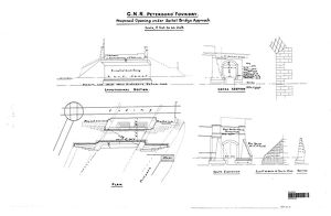 G.N.R. Peterborough Foundry - Proposed Opening under Spital Bridge Approach [N.D.]