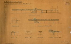 G.W.R. Bourne End Station: New Platform Coverings, Waiting Shed, Urinals etc [1893]