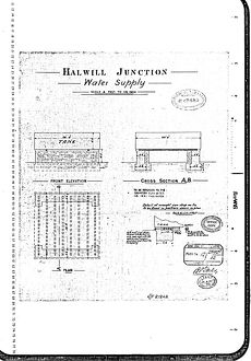 Halwill Junction Water Supply