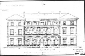 Hull Station Hotel - East Elevation [1847]
