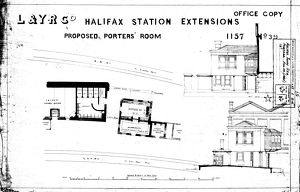 Halifax Station (Selection of 4 Items)