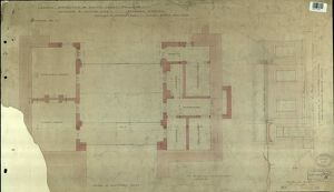 LBSCR NORTH DULWICH PLAN AT PLATFORM LEVEL [1867]