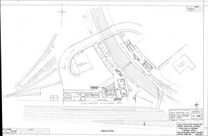 LNER Bishop Auckland Station Ground Plan [1934]