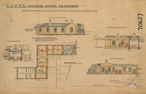 L&N.W.R Lancaster Station Enlargement [1902]