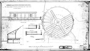 London and North Western Railway - Plan Showing Proposed Conversion of Circular Engine