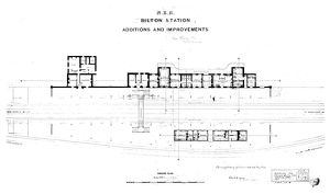 N.E.R Bilton [Alnmouth] Station Additions and Improvements [1886]