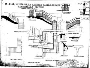 N.E.R Darlington & Barnard Castle Branch - Broomielaw Station - Proposed Enclosure