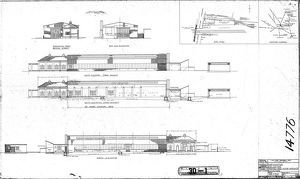 Northampton (Far Cotton) Proposed Road Motor Workshop Elevation [1945]