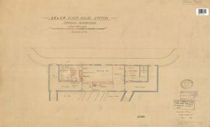 SE. & C.R. Clock House Station - Proposed Alterations [c1911]
