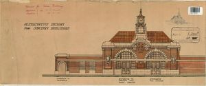 SE & CR Tunbridge Wells Station Alternative Design [1910]